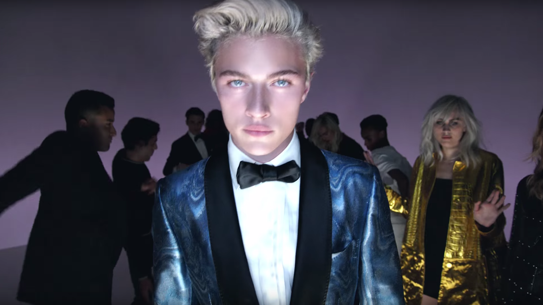 Lucky Blue Smith + More Models Join Lady Gaga for Tom Ford Video