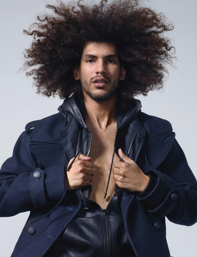 Force de la Jeunesse: Models Leap Into Action for Numéro Homme