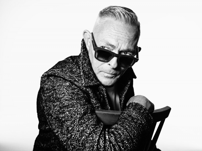 John Bradbury photographed by Rankin for Oliver Spencer Fall/Winter 2015