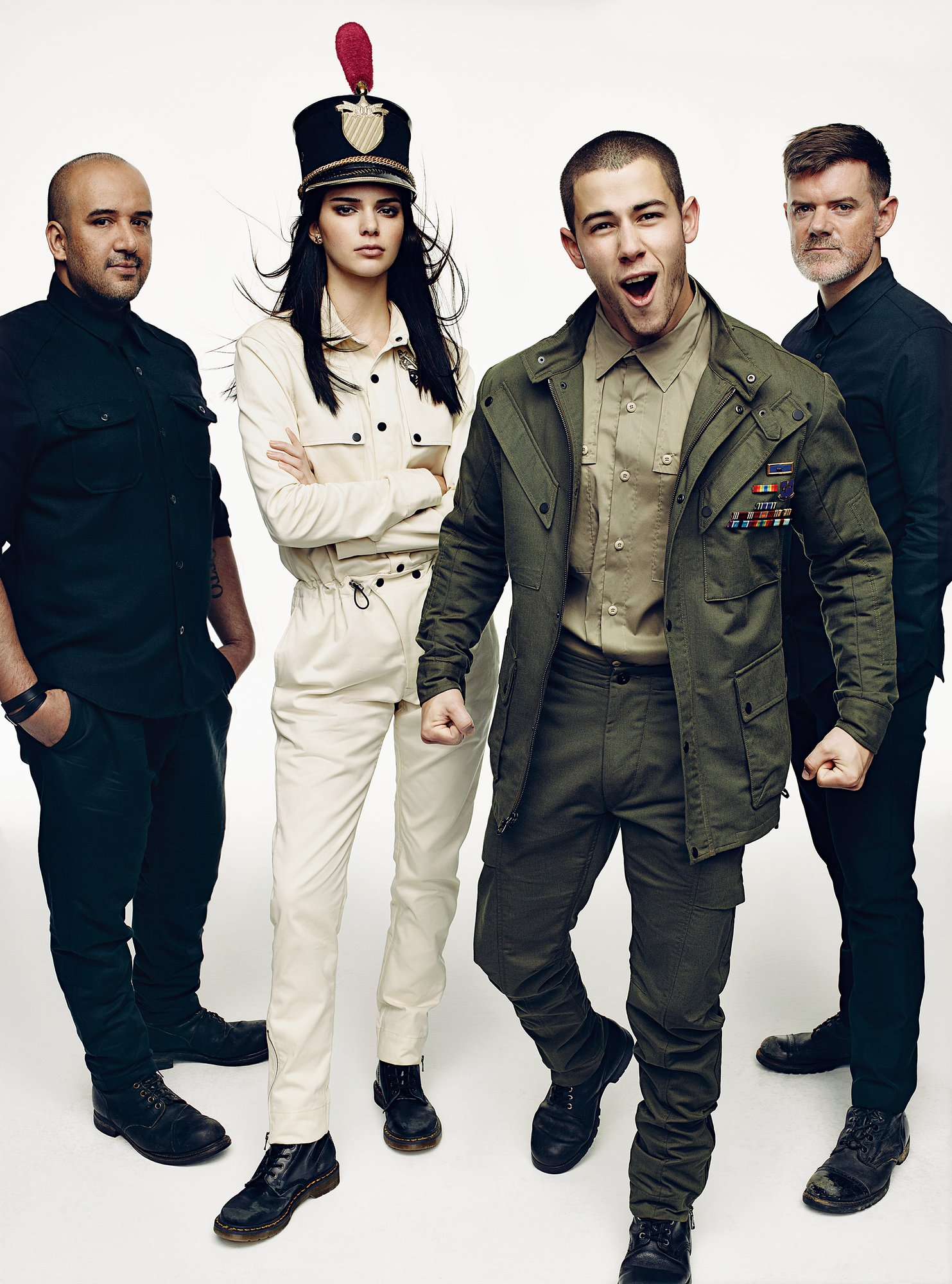 Nick Jonas, Jaden Smith + More Join Kendall Jenner for CFDA/Vogue Fashion Fund Shoot