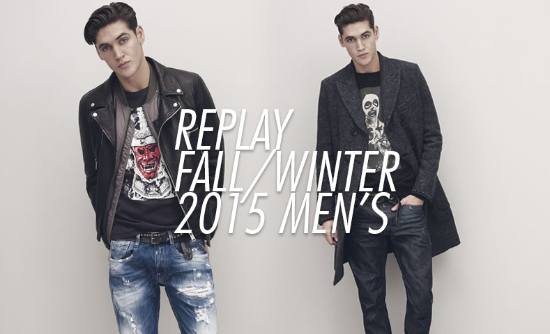 Replay Unveils Casual Contemporary Fall Styles
