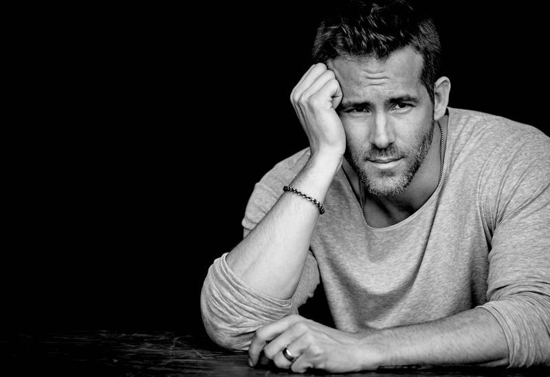 Ryan Reynolds Poses for InStyle Photo Shoot