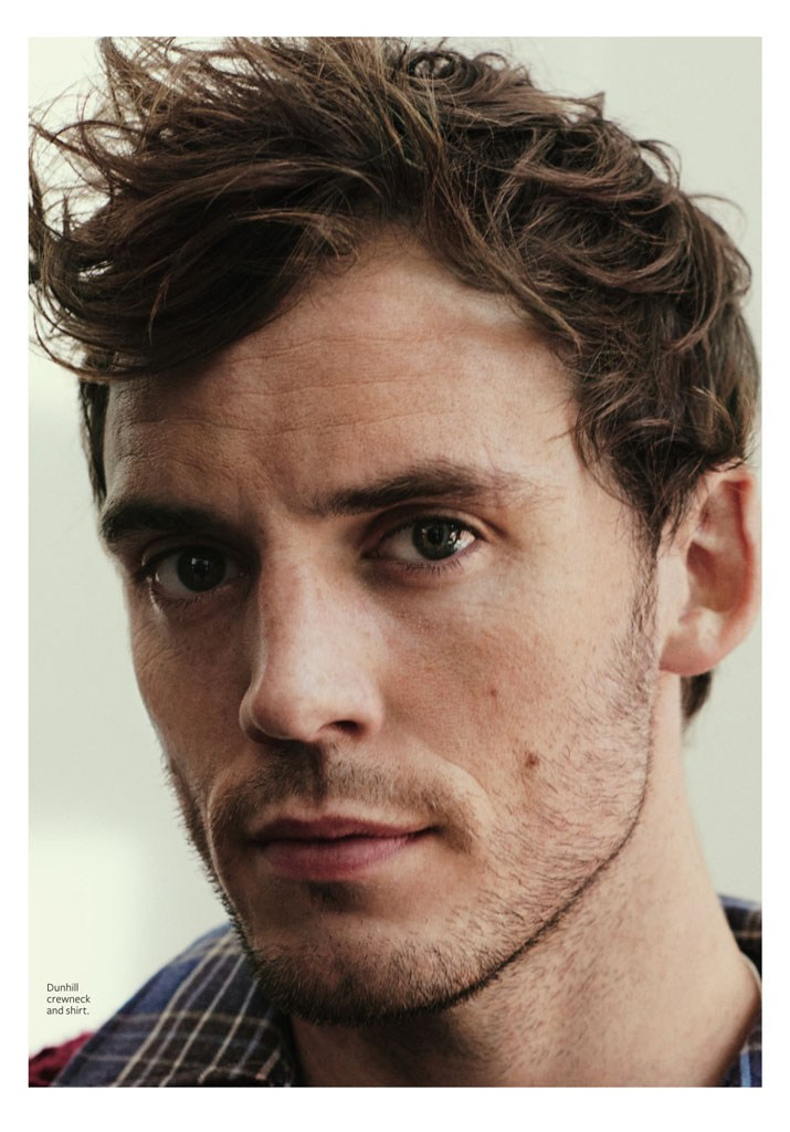 Sam Claflin is ready for his close-up, gracing the pages of InStyle.