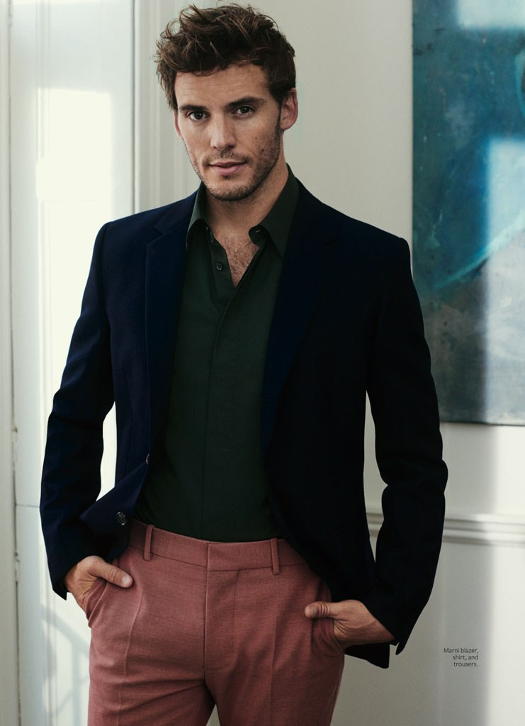 Sam Claflin Fronts InStyle's 'Man of Style' Shoot