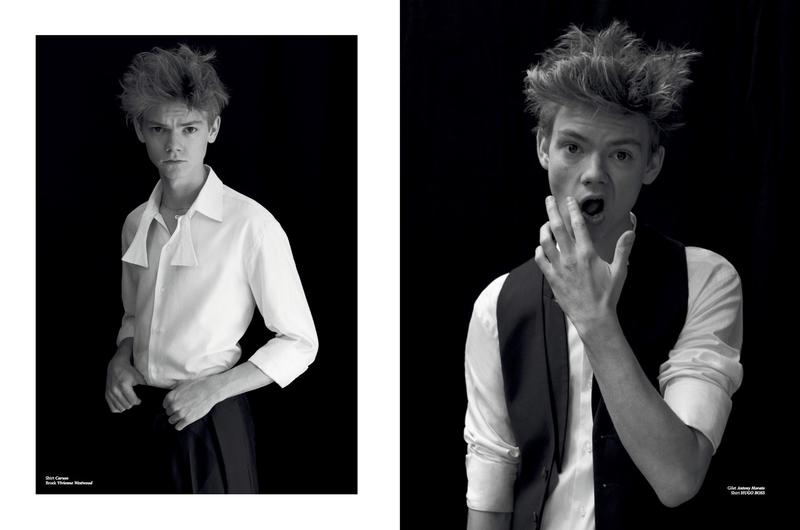 Thomas Brodie Sangster Covers L Officiel Hommes Nl