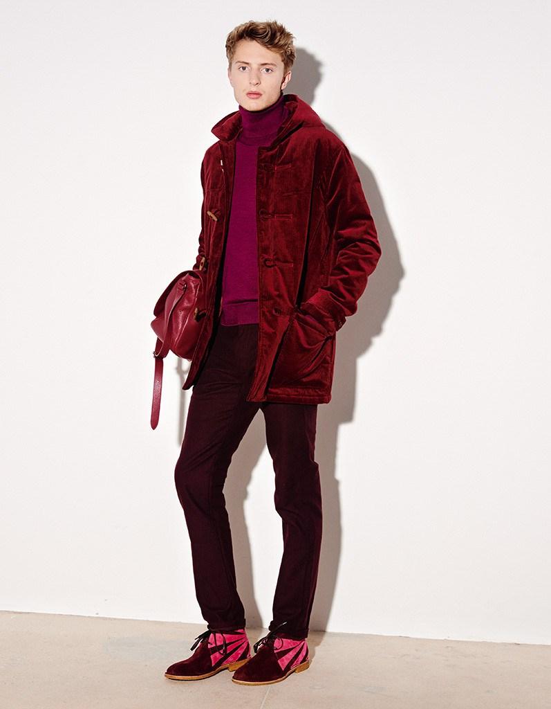 Tomas Maier Fall/Winter 2015 Menswear Collection Lookbook
