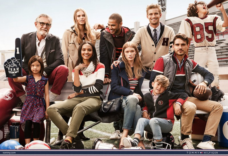Tommy Hilfiger Fall/Winter 2015 Advertising Campaign