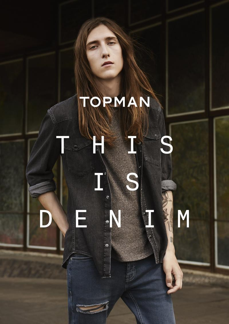 Topman Presents 'This Is Denim' Campaign