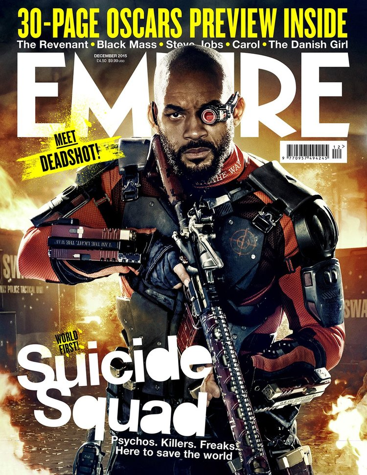 Will Smith Covers Empire as Deadshot