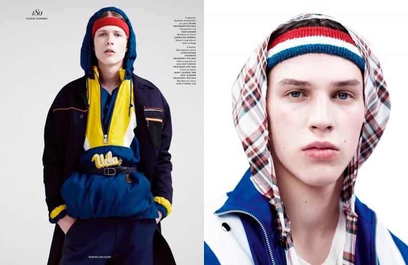 Sven de Vries and Artur Chruszcz for Vogue Hommes Paris