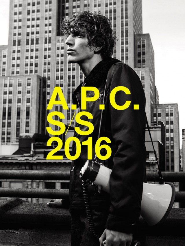 First Look: A.P.C. Spring/Summer 2016 Campaign