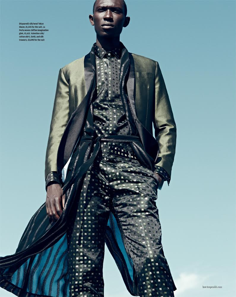 How to Spend It: Armando Cabral Goes Formal in Fits for the Bedroom