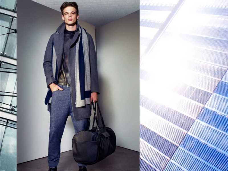 Armani Exchange: Key Winter 2015 Outfits