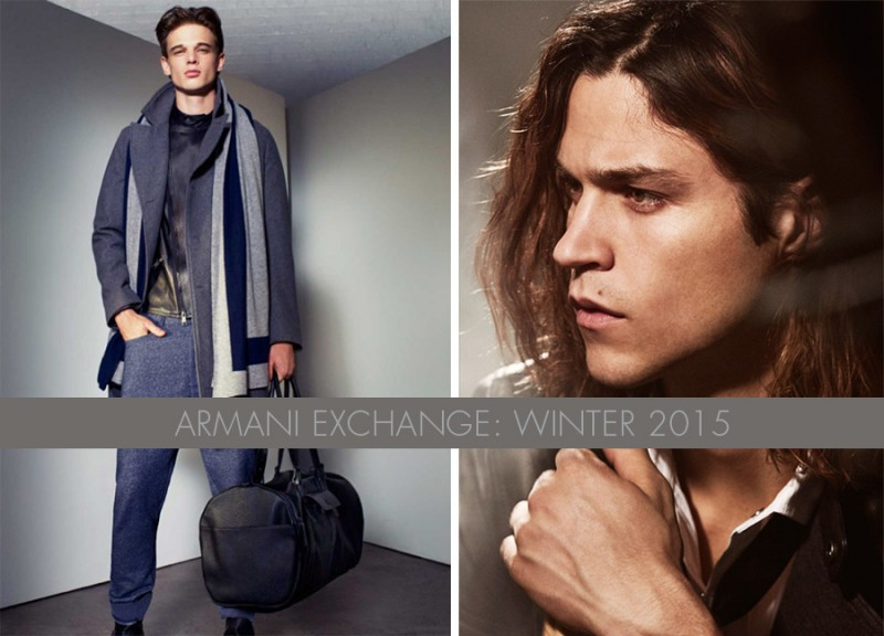 Armani Exchange Winter 2015