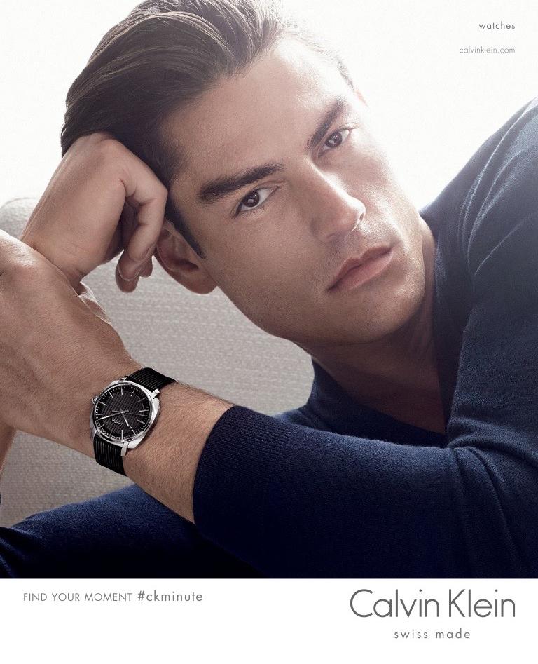 Calvin Klein 2015 Watches Campaign: Tyson Ballou by Karim Sadli