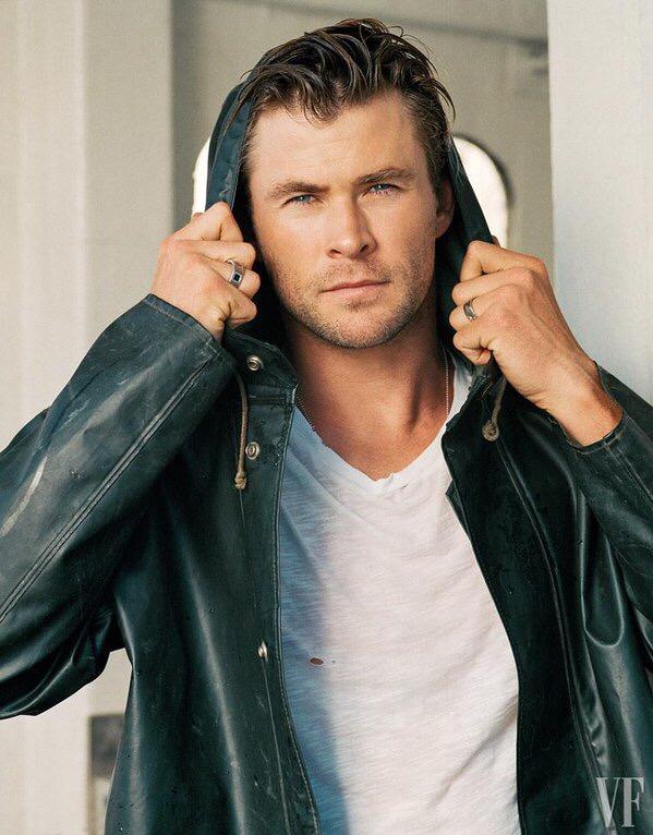 Chris Hemsworth photographed for Vanity Fair