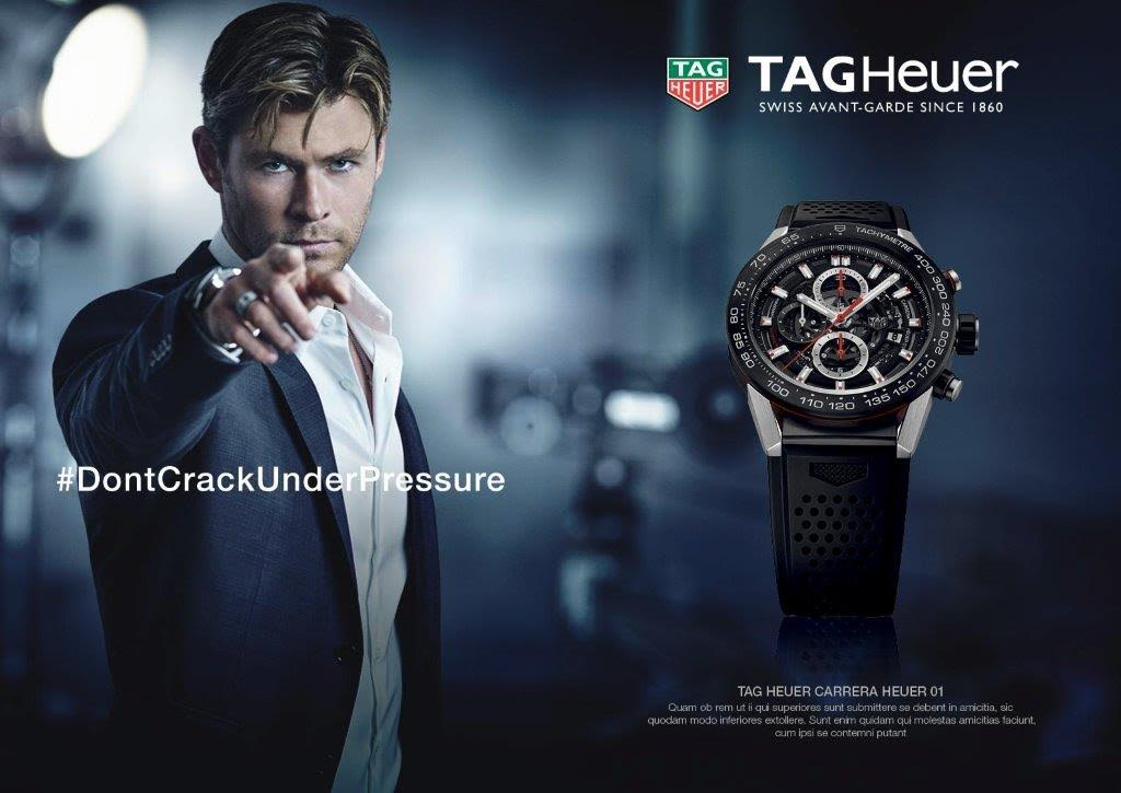 Chris Hemsworth Fronts TAG Heuer Campaign