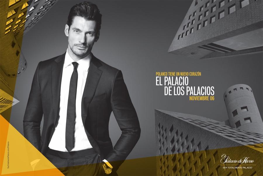 David Gandy Stars in El Palacio de Los Palacios Ads