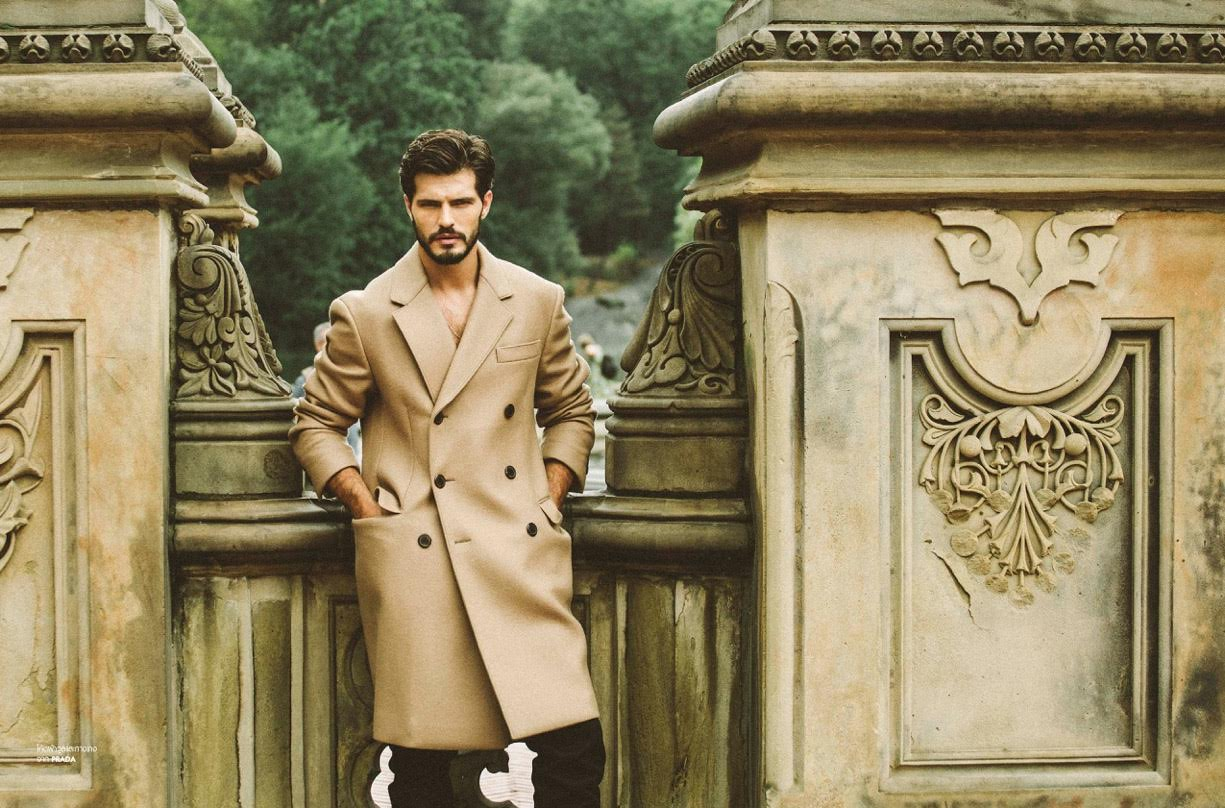 Diego Miguel is a 'City Man' for L'Officiel Hommes Thailand
