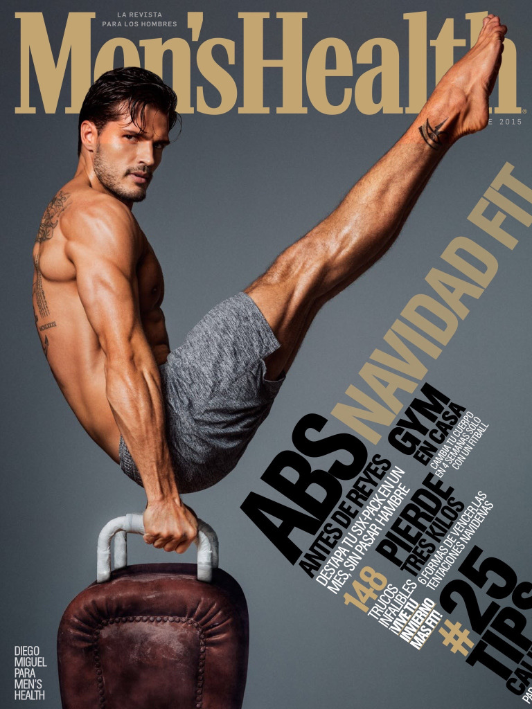 Diego Miguel is Fit Vision for Men's Health Spain