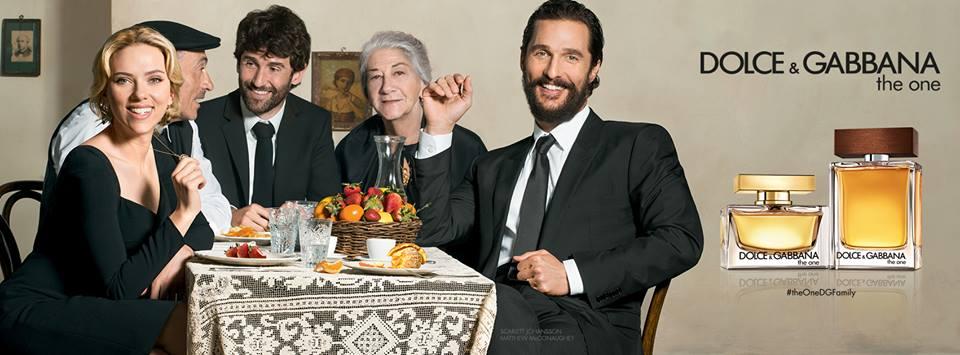 Matthew McConaughey + Scarlett Johansson Join Dolce & Gabbana's Familia
