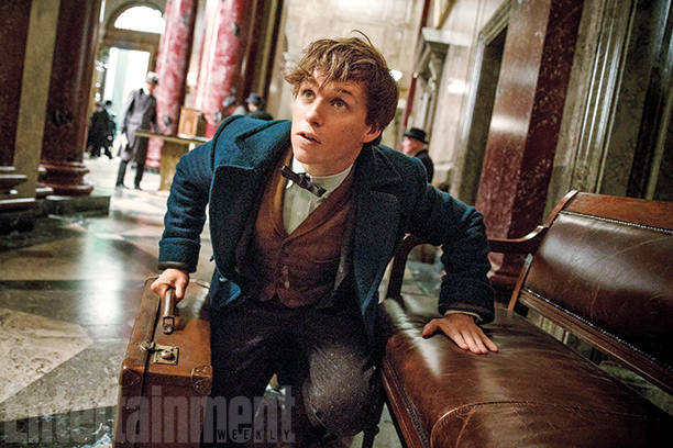 Eddie Redmayne Debuts 'Fantastic Beasts and Where to Find Them' Character on Entertainment Weekly