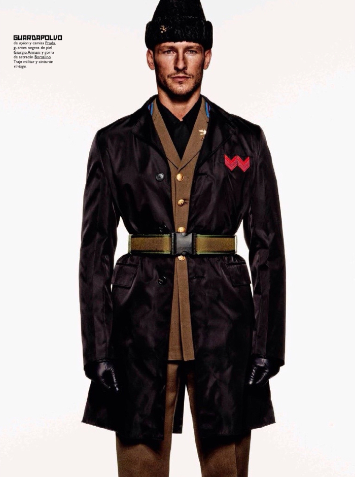 Military Style Outerwear is At Attention for GQ España