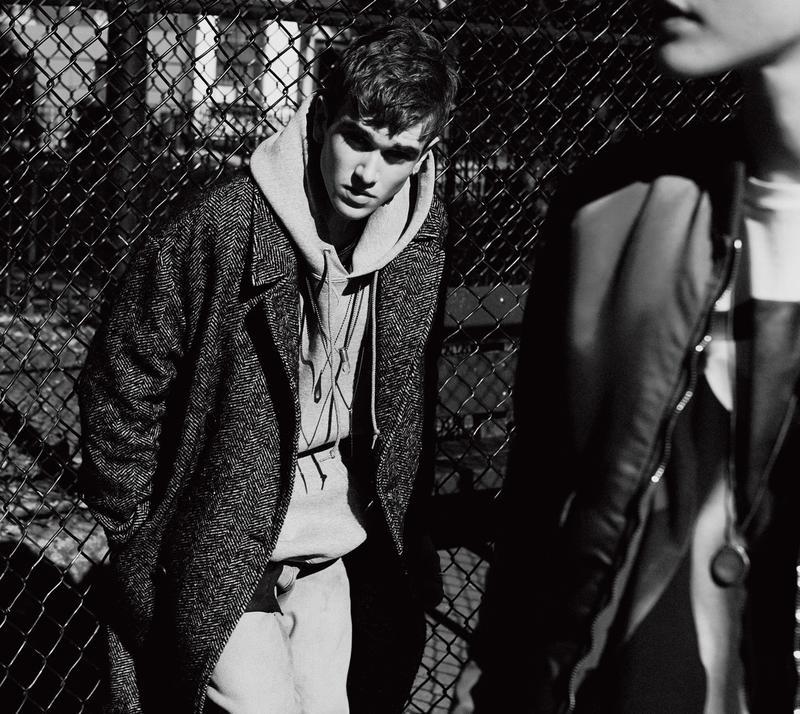 Gabriel-Kane Day-Lewis Stars in Black & White L'Uomo Vogue Shoot