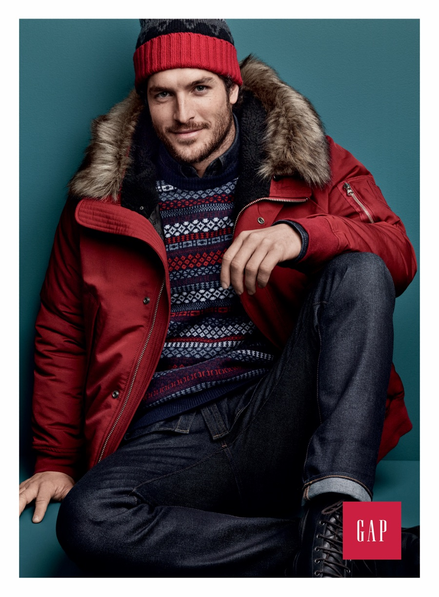 Gap Brings the Holiday Cheer with New Men's Styles