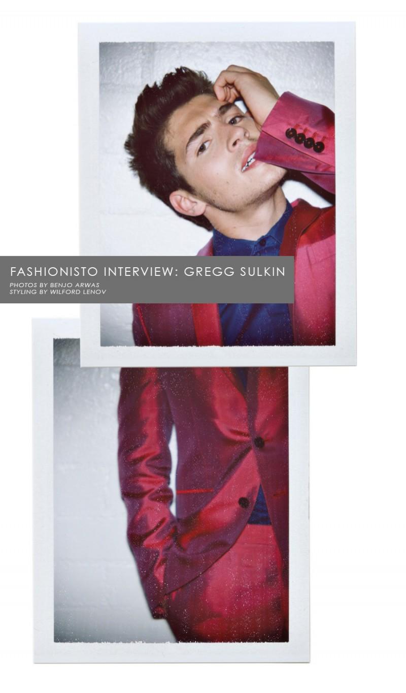 Fashionisto Exclusive: Gregg Sulkin photographed by Benjo Arwas