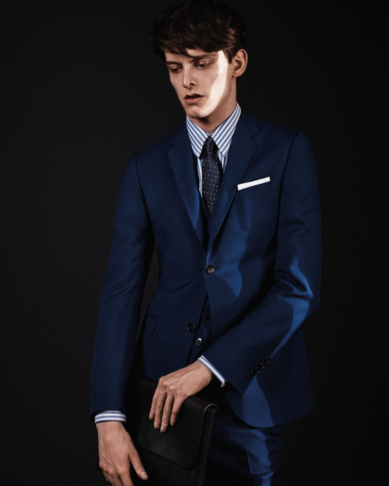 Gucci Men Suits: Fall/Winter 2015 Tailoring