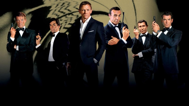 The Evolution of James Bond via Flickering Myth.