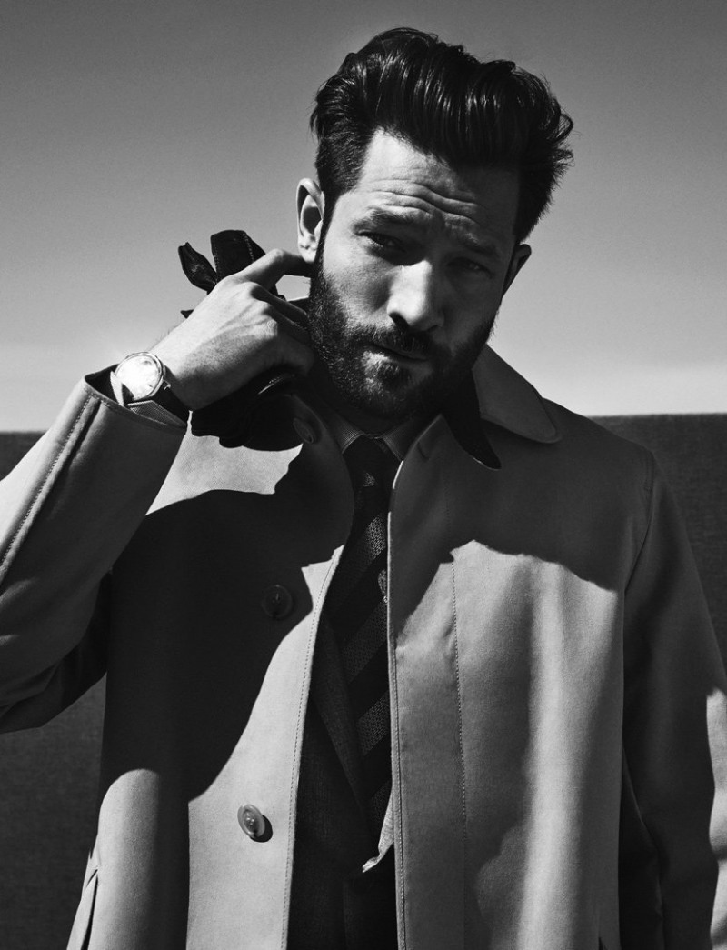 John Halls photographed for GQ France's Style Manuel.