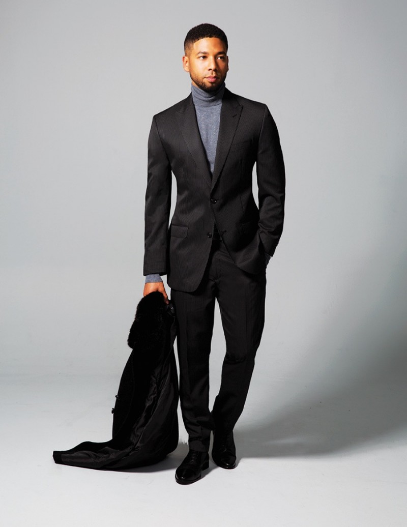 Actor Jussie Smollett stars in a campaign for Sean John.