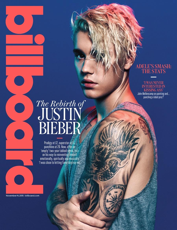 Justin Bieber Back Tattoos 2015