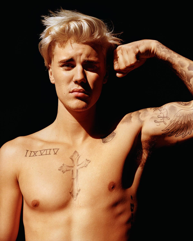 Justin Bieber Flexes for i-D, Talks Monkey Episode