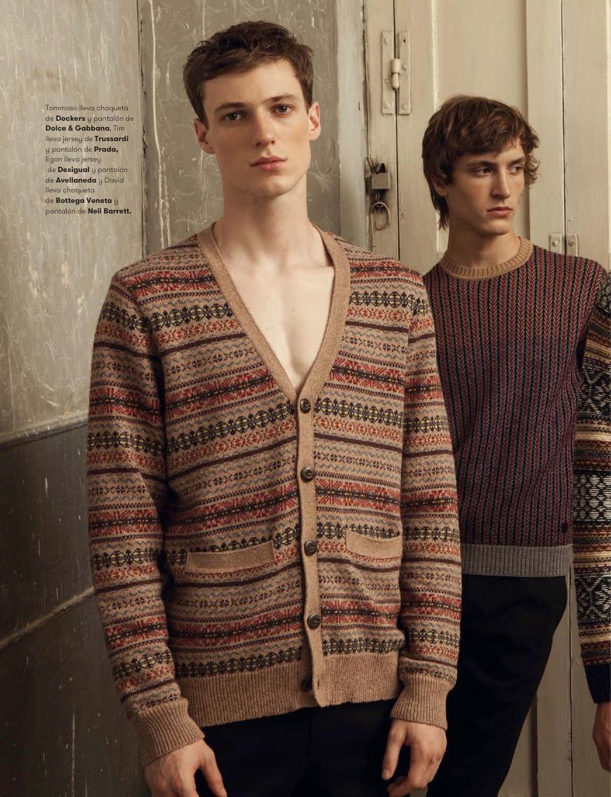 L'Officiel Hommes España Highlights Fall Fashions