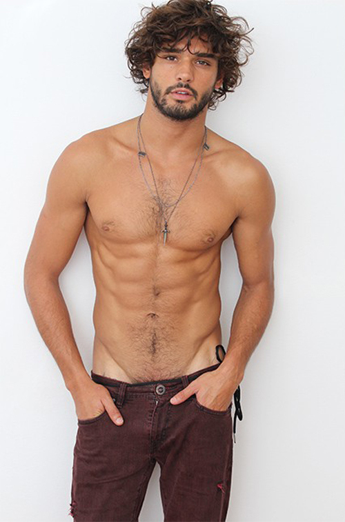 Marlon Teixeira Goes Shirtless for New Casting Pictures