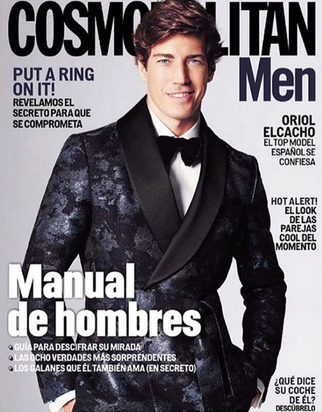 Oriol Elcacho Covers Cosmopolitan Men Mexico