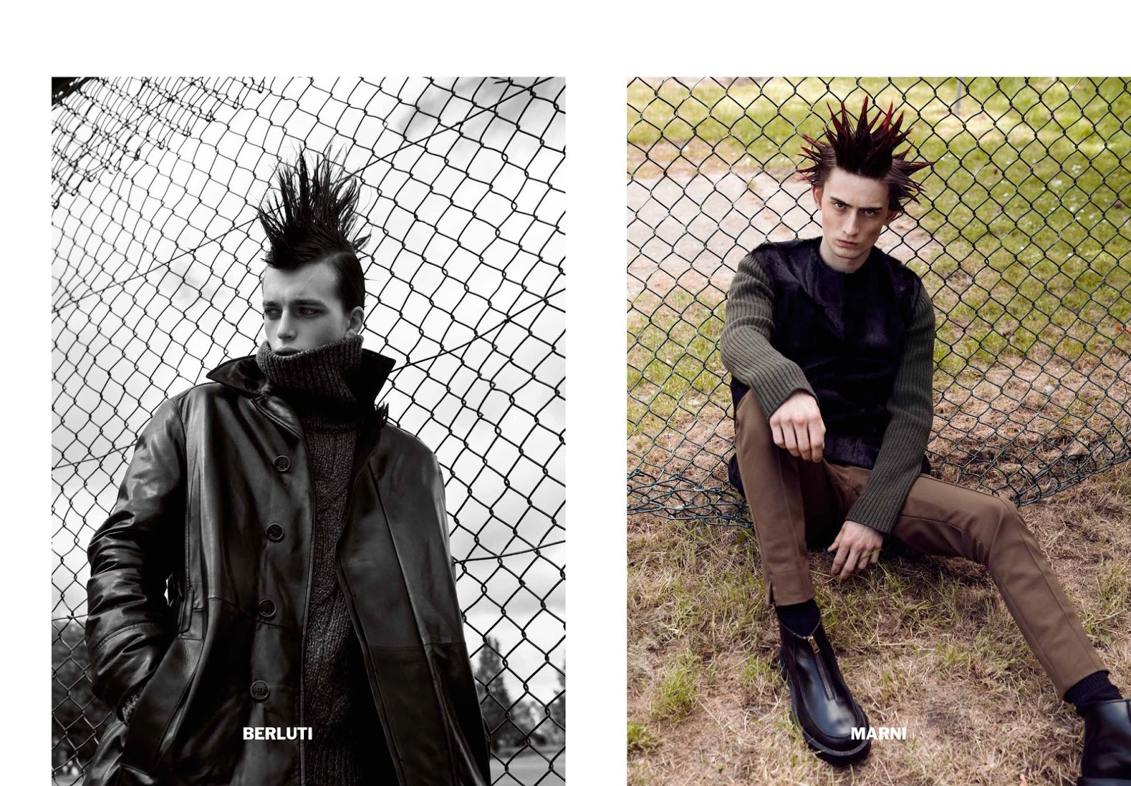 Mohawks & Spiked Hair Make a Comeback for Purple