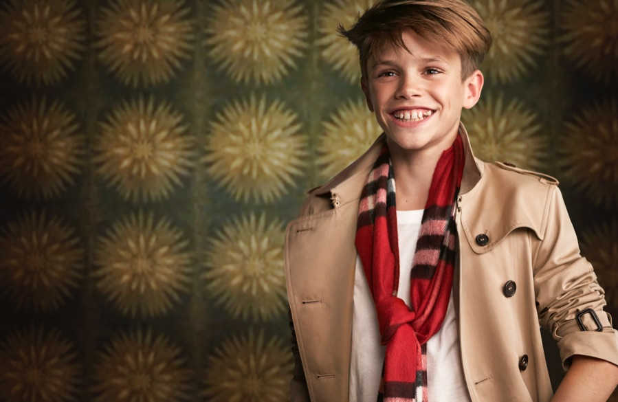 Romeo Beckham, James Bay + More Star in Burberry Festive Campaign