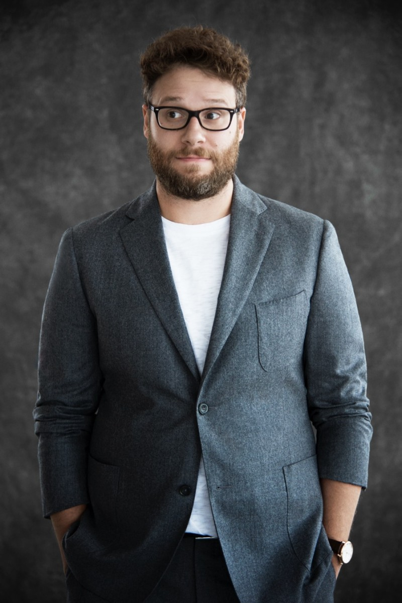 Seth Rogen photographed for Haute Living.