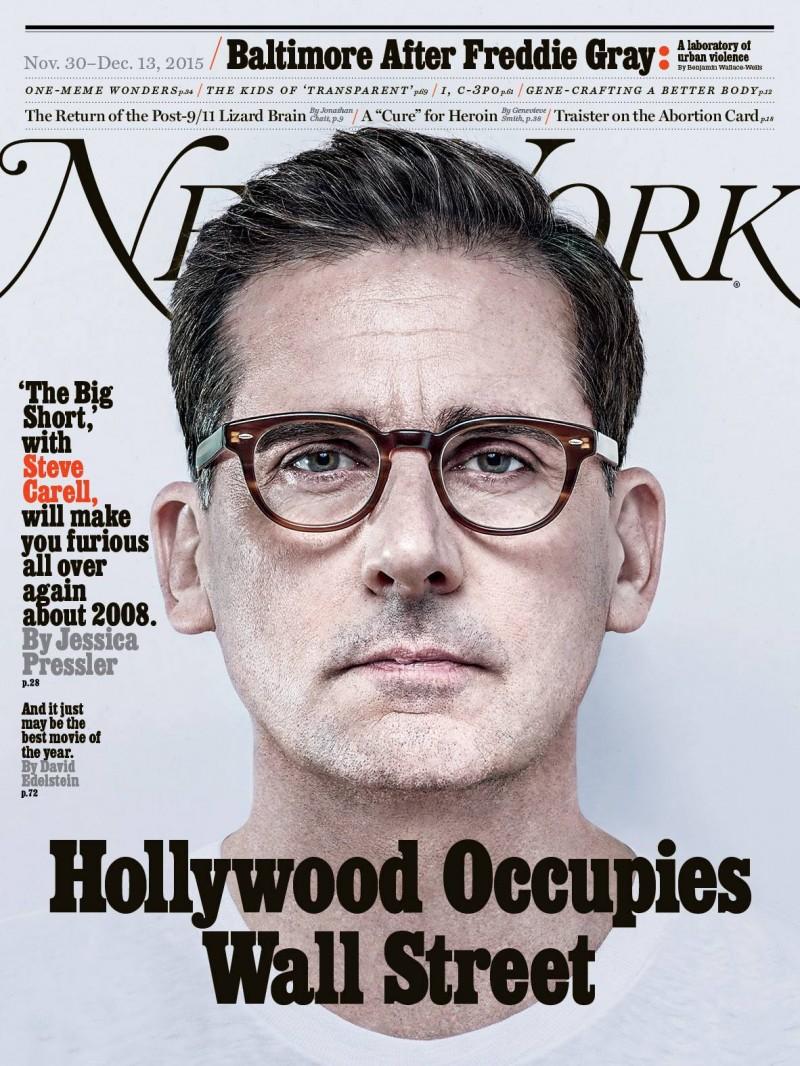 Ryan Gosling Christian Bale Steve Carell Cover New York