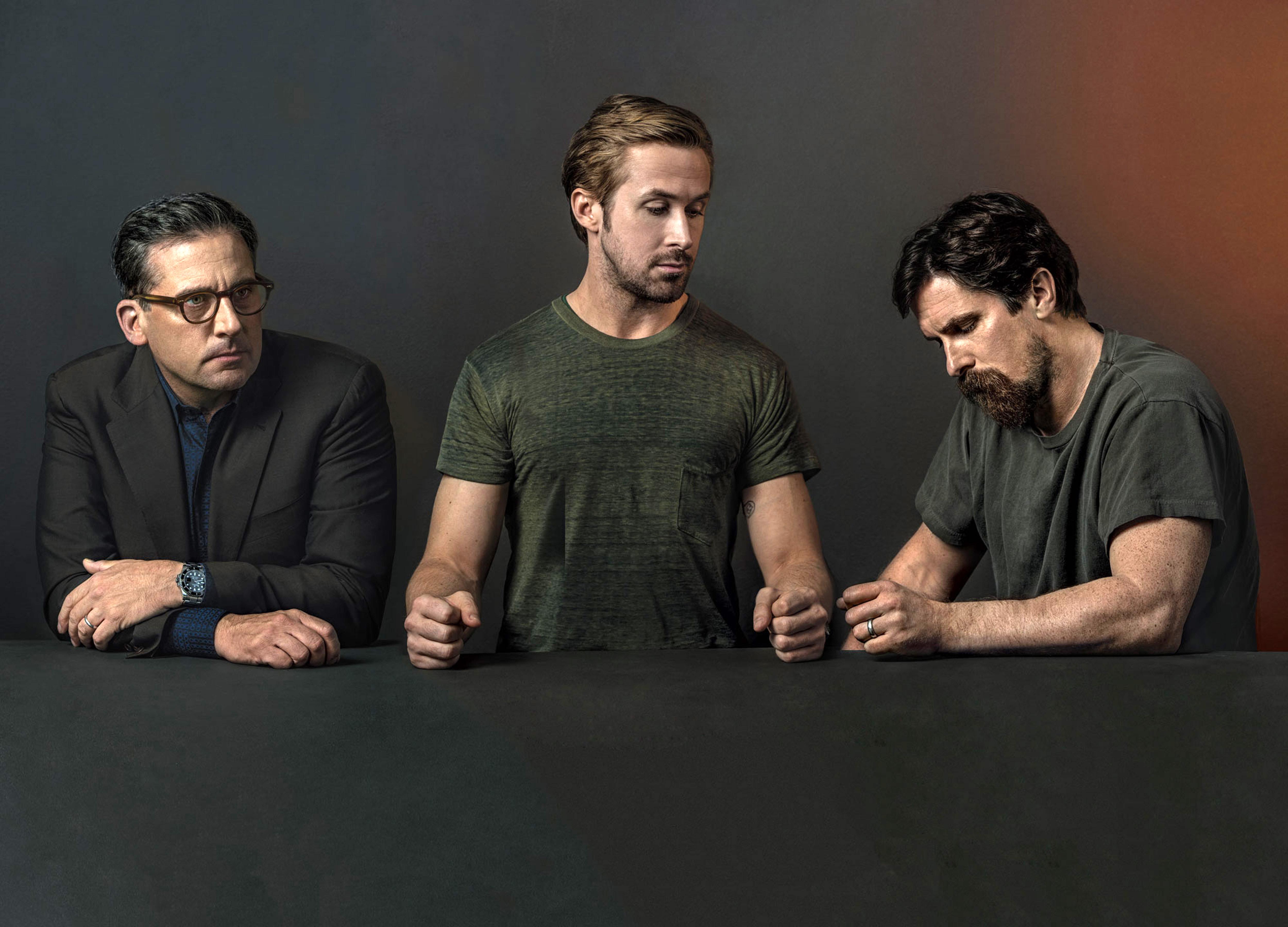 Ryan Gosling, Christian Bale + Steve Carell Cover New York Magazine