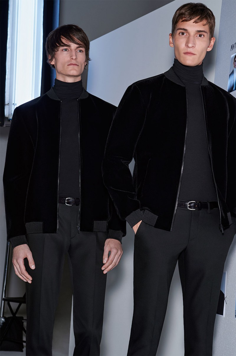 The turtleneck continues to be an impressive ensemble finisher.