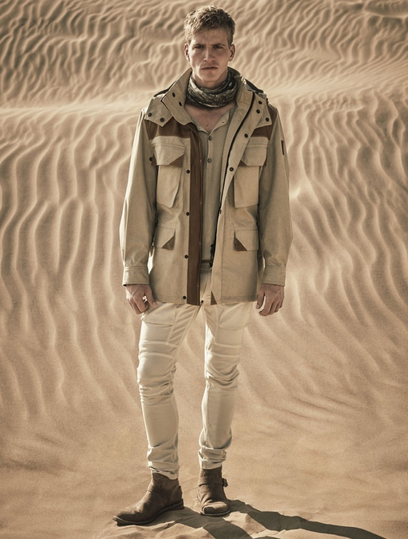 ab060ddf8b32 Belstaff Envisions the Chic Desert Explorer for Spring