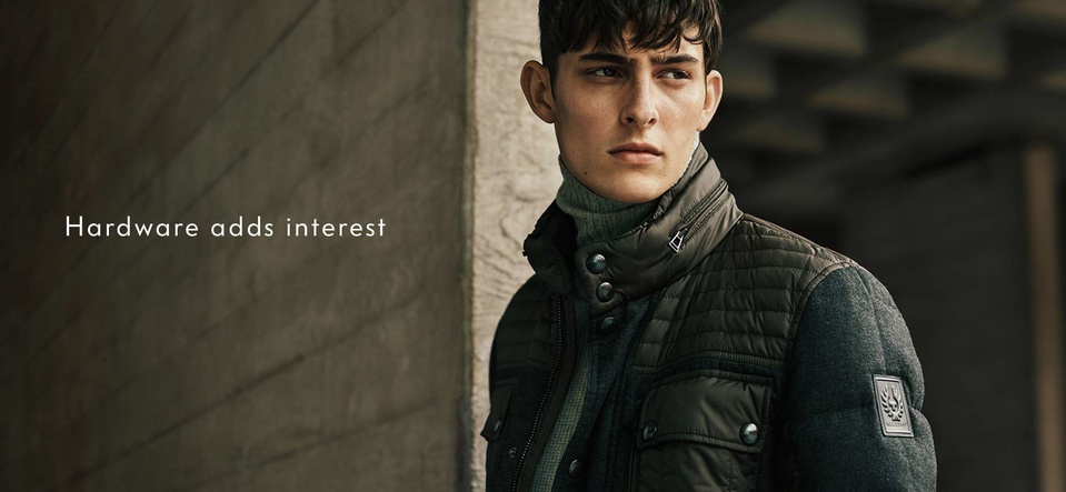 Neiman Marcus Spotlights Belstaff's Classic Styles