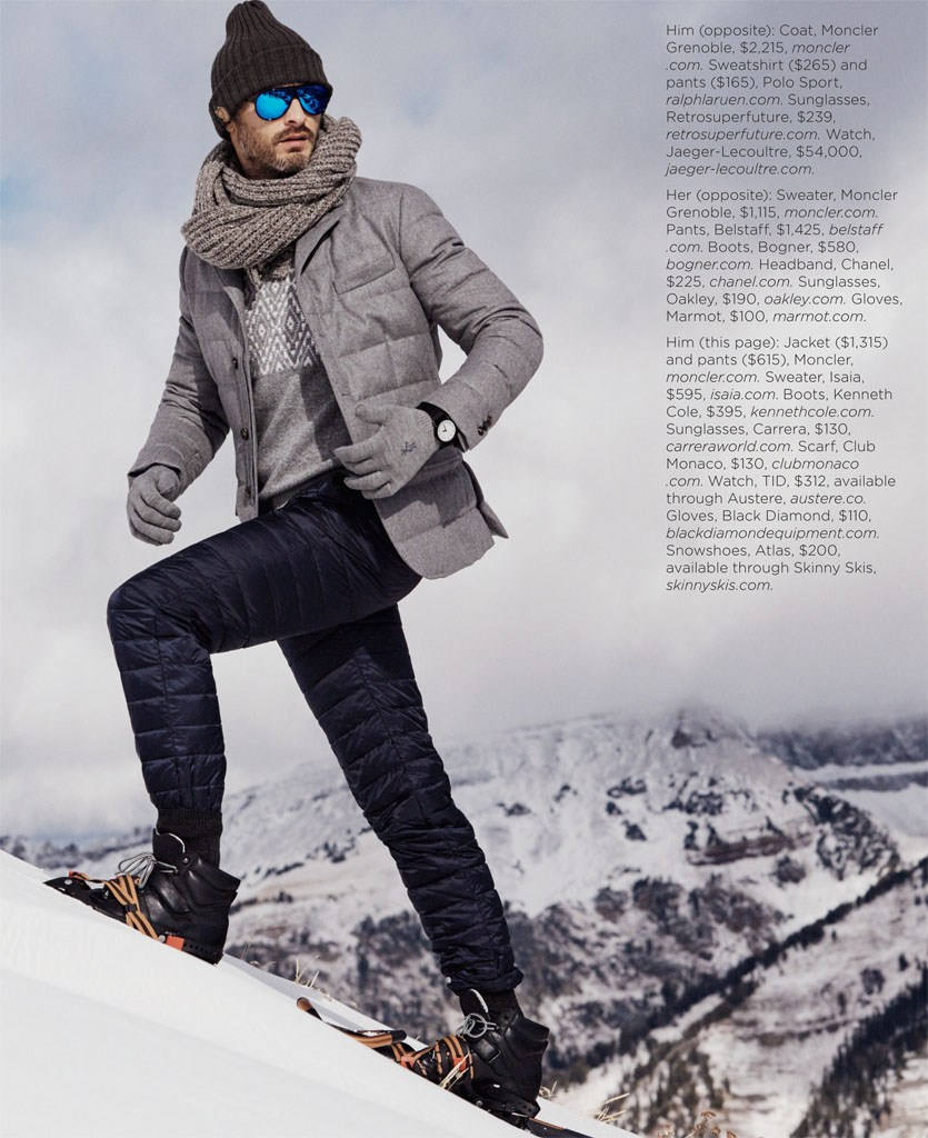 Uncommon Cold: Ben Hill is Ready for Ski Season with Luxury Magazine