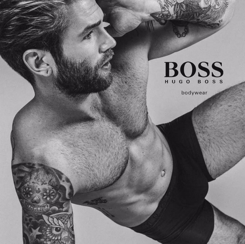 Andre Hamann for BOSS by Hugo Boss Underwear Campaign