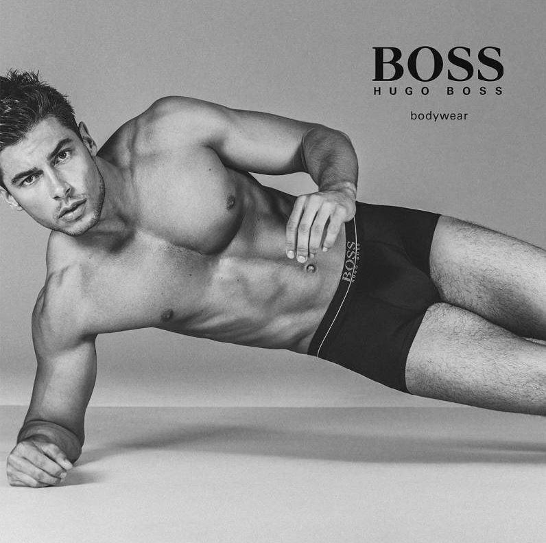 Andrea Denver for BOSS by Hugo Boss Underwear Campaign